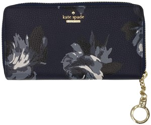 Kate Spade Kate Spade New York Neda Briar Lane Night Rose Wallet in Navy Multi