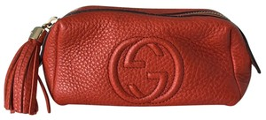 Gucci Soho Leather Tassel Pouch