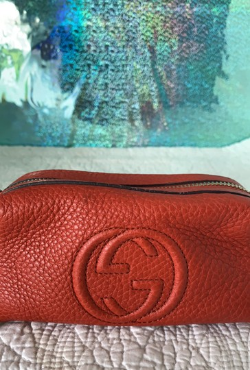 Gucci Soho Leather Tassel Pouch Image 1