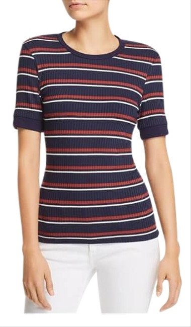 Preload https://img-static.tradesy.com/item/25844504/frame-blue-new-without-tags-70-s-striped-rib-knit-tee-blouse-size-8-m-0-1-650-650.jpg