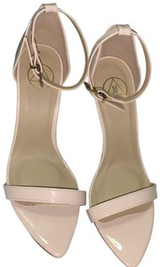 Missguided nude Sandals