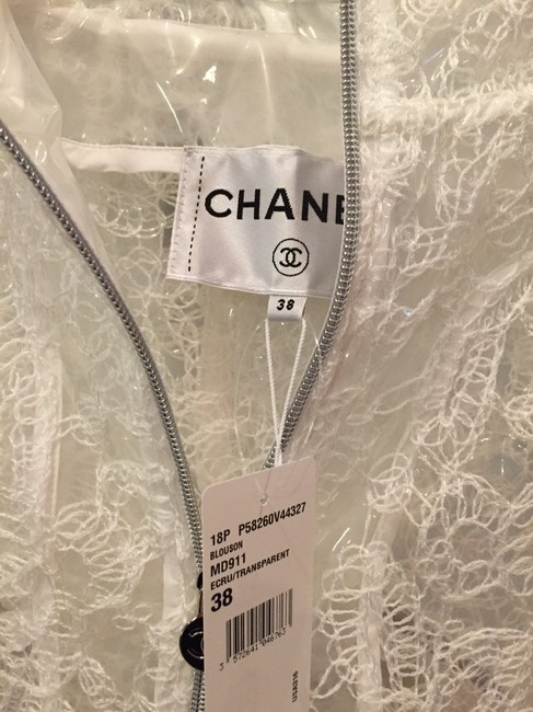 Chanel White and navy Jacket Image 2