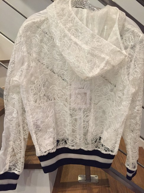 Chanel White and navy Jacket Image 5
