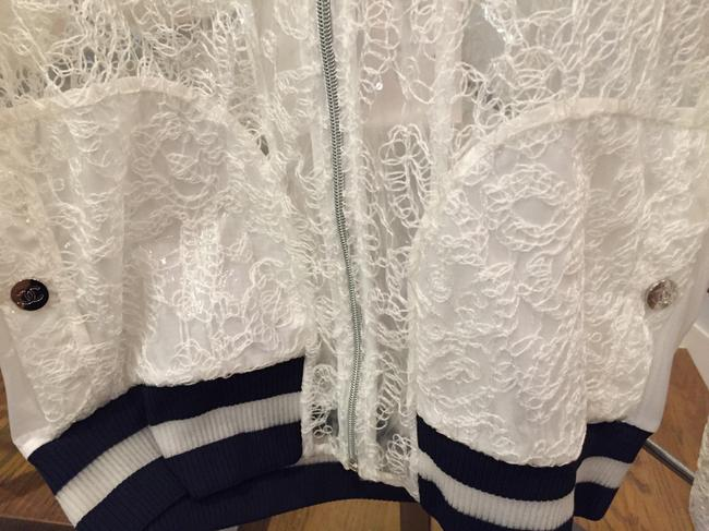 Chanel White and navy Jacket Image 8