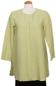 Eileen Fisher Top Pear Green