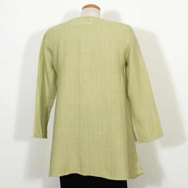 Eileen Fisher Top Pear Green Image 1