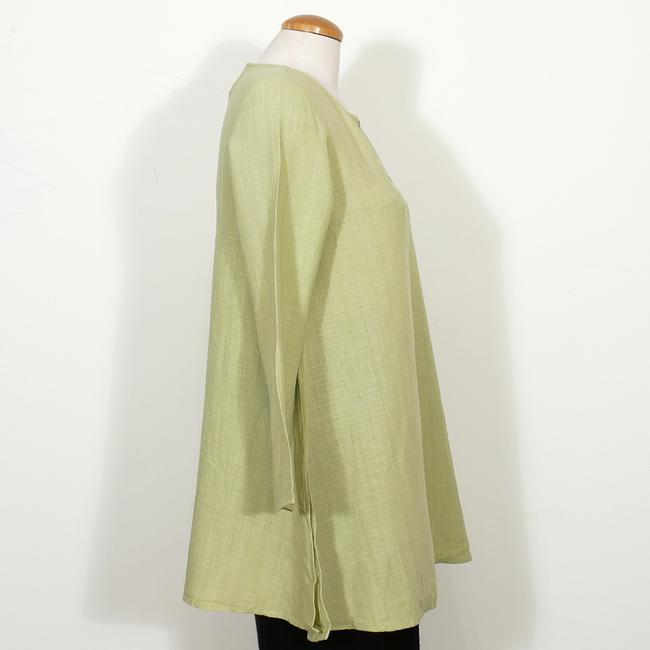 Eileen Fisher Top Pear Green Image 3