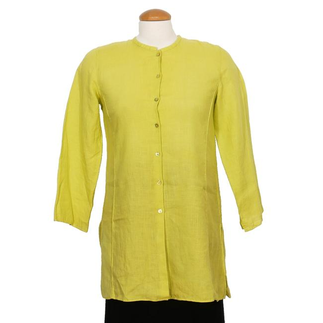 Eileen Fisher Top Quince Yellow Image 0
