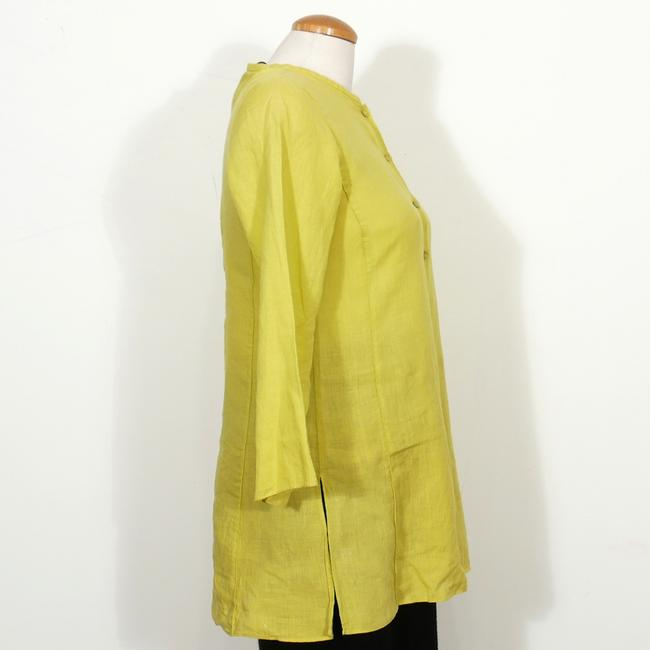 Eileen Fisher Top Quince Yellow Image 1