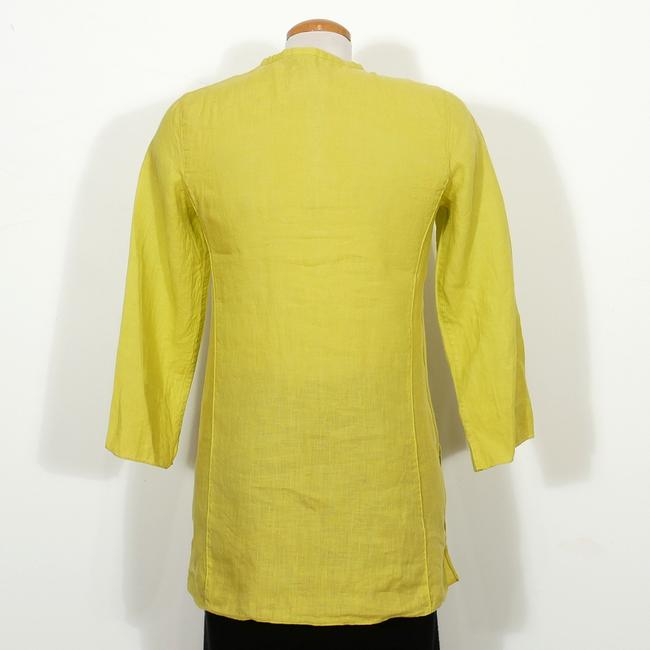 Eileen Fisher Top Quince Yellow Image 3