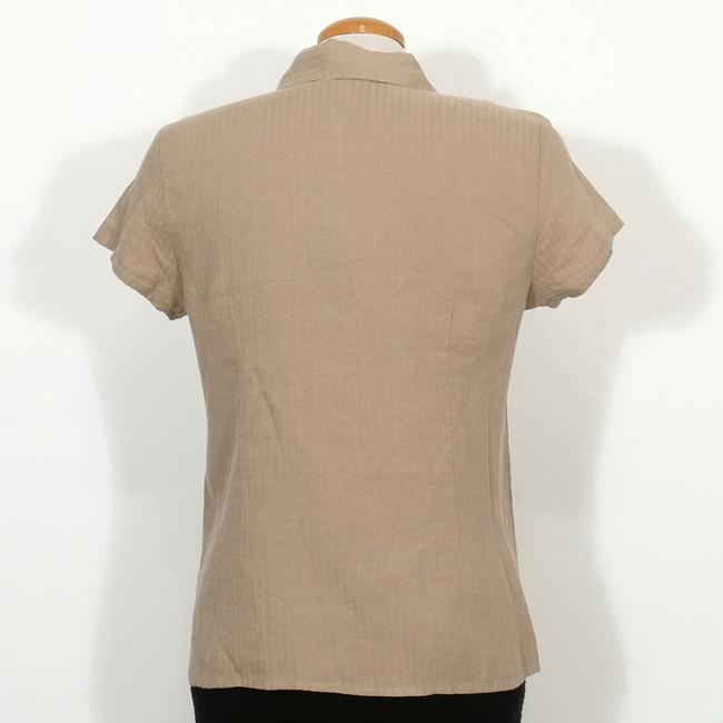 Eileen Fisher Top Sage Green Image 1