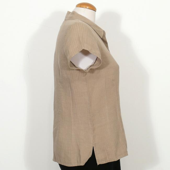 Eileen Fisher Top Sage Green Image 3