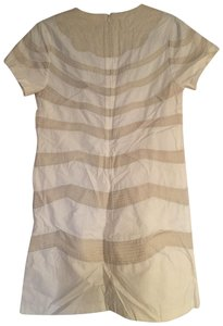 Matty M short dress beige and white on Tradesy
