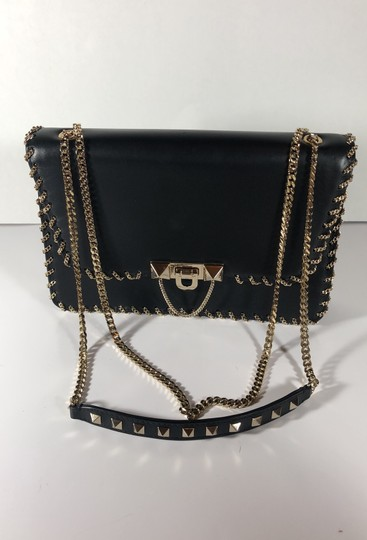 Valentino Garavani Rockstud Convertible Shoulder Cross Body Bag Image 1