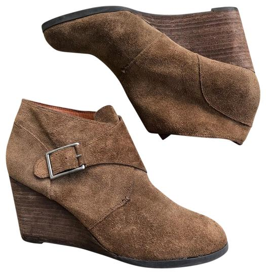 Preload https://img-static.tradesy.com/item/25844739/lucky-brand-brown-sumarah-suede-buckle-wedge-ankle-bootsbooties-size-us-75-regular-m-b-0-1-540-540.jpg
