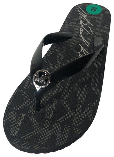 Preload https://img-static.tradesy.com/item/25844742/michael-michael-kors-black-flip-flop-sandals-size-us-8-regular-m-b-0-1-540-540.jpg