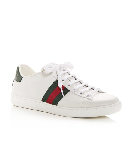 Gucci Gg Espadrille White Athletic Image 1