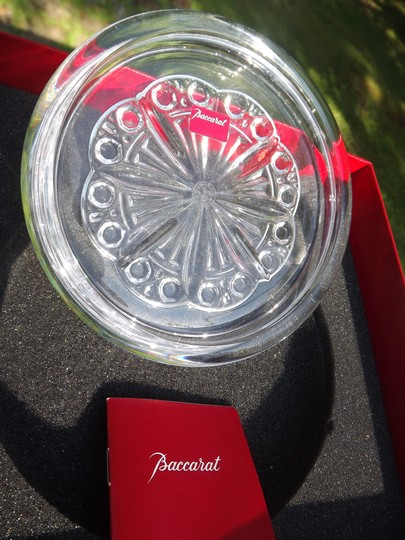 Baccarat Baccarat France Crystal Candy Dish Jewelry Dish Ash Tray NEW BOX TOO! Image 3