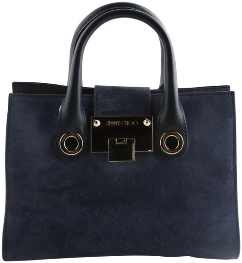Preload https://img-static.tradesy.com/item/25844857/jimmy-choo-riley-handbag-blue-suede-leather-cross-body-bag-0-2-540-540.jpg