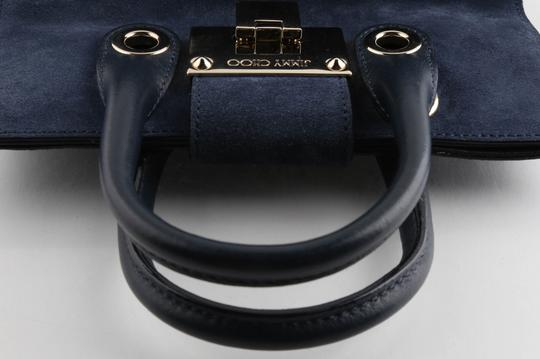 Jimmy Choo Riley Suede Handbag Cross Body Bag Image 7