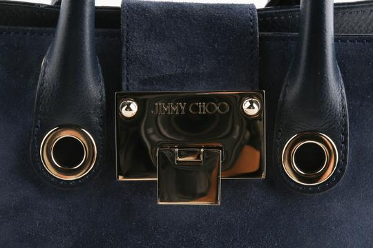 Jimmy Choo Riley Suede Handbag Cross Body Bag Image 8