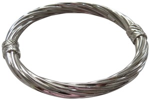 Ross-Simons Italian Sterling Silver Twisted Oval Bangle