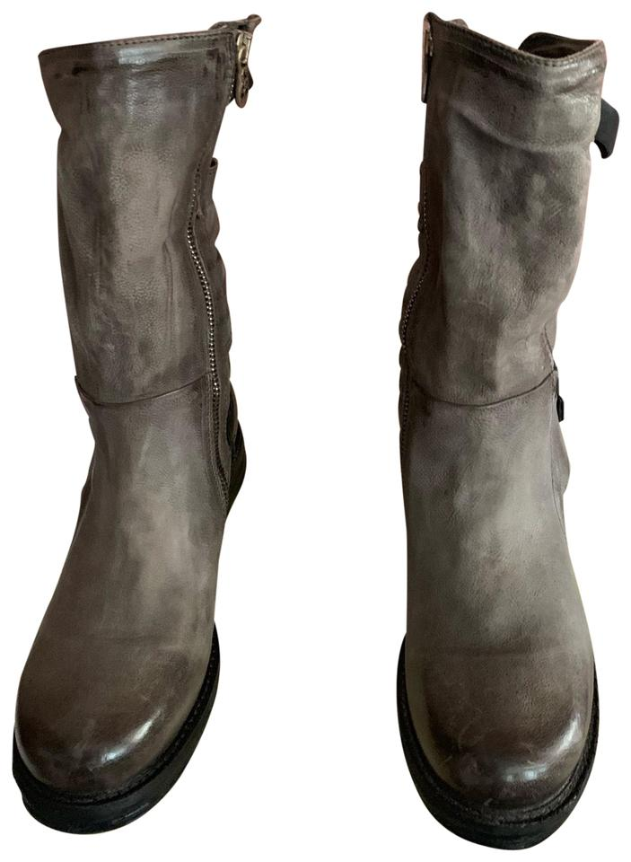 free shipping 75fe6 b90e2 Gray Serge Boots/Booties