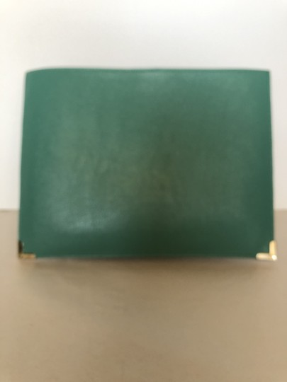 Unknown Workclutch Workbag Leatherevening Teal Clutch Image 2