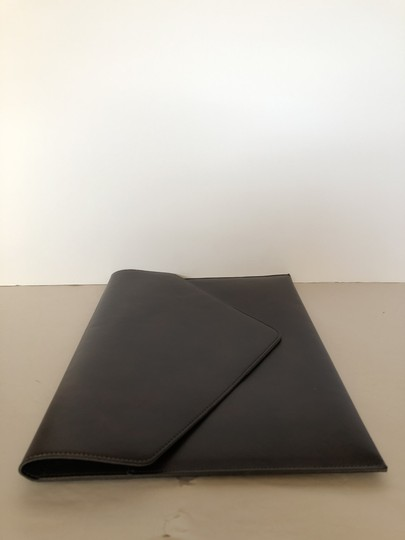 Tempo Italy Work Leather Work brown Clutch Image 1