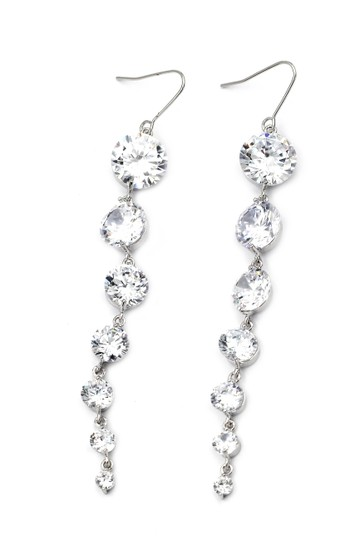 Preload https://img-static.tradesy.com/item/25845110/silver-elegant-personality-shiny-earrings-0-0-540-540.jpg