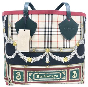 Burberry Check Large Giant Vintage Tote in Multicolor