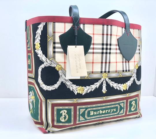 Burberry Check Large Giant Vintage Tote in Multicolor Image 1