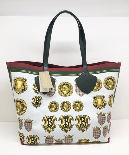 Burberry Check Large Giant Vintage Tote in Multicolor Image 2