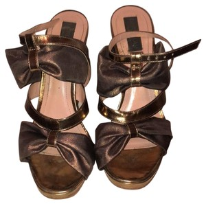 Derek Lam gold Platforms