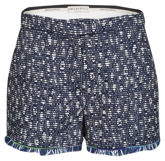 Preload https://img-static.tradesy.com/item/25845250/emilio-pucci-navy-blue-and-whte-textured-fringed-m-shorts-size-8-m-29-30-0-1-650-650.jpg