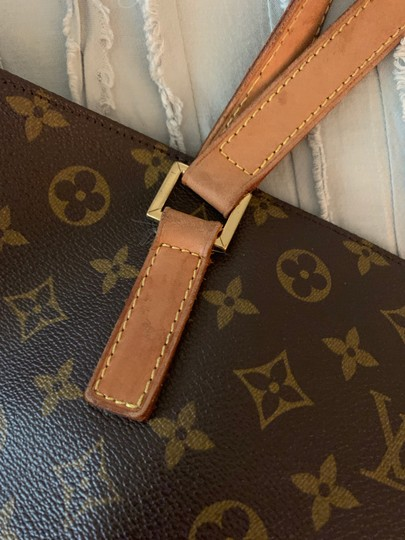 Louis Vuitton Tote in Tan Image 5