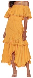 gold/yellow Maxi Dress by MISA Los Angeles