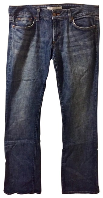 Item - Distressed Blue Honey Boot Cut Jeans Size 12 (L, 32, 33)