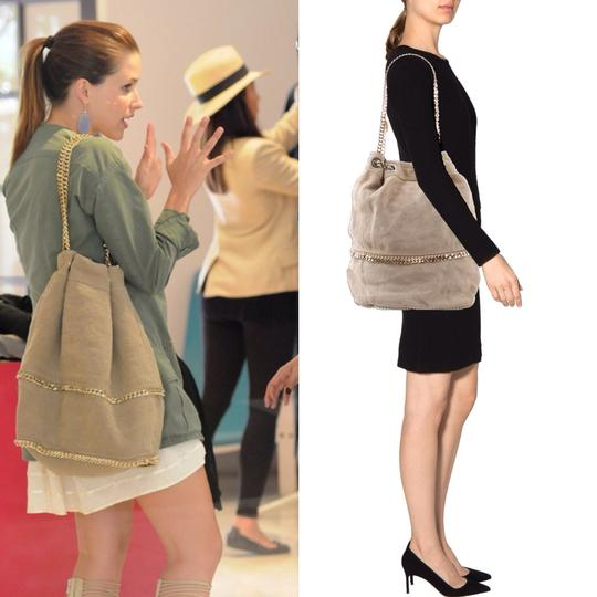 Stella McCartney Vegan Suede Hobo Bag Image 2
