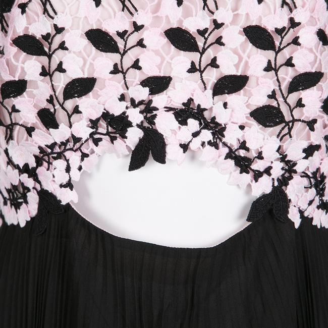 Multicolor Maxi Dress by Giambattista Valli Floral Lace Detail Image 5