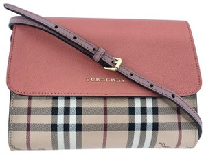 Burberry Check Loxley Cross Body Bag