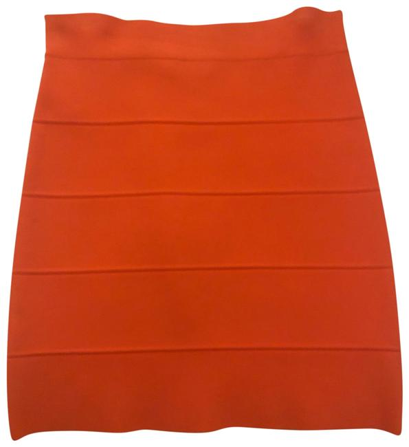 Item - Bright Orange Bodycon Skirt Size 8 (M, 29, 30)