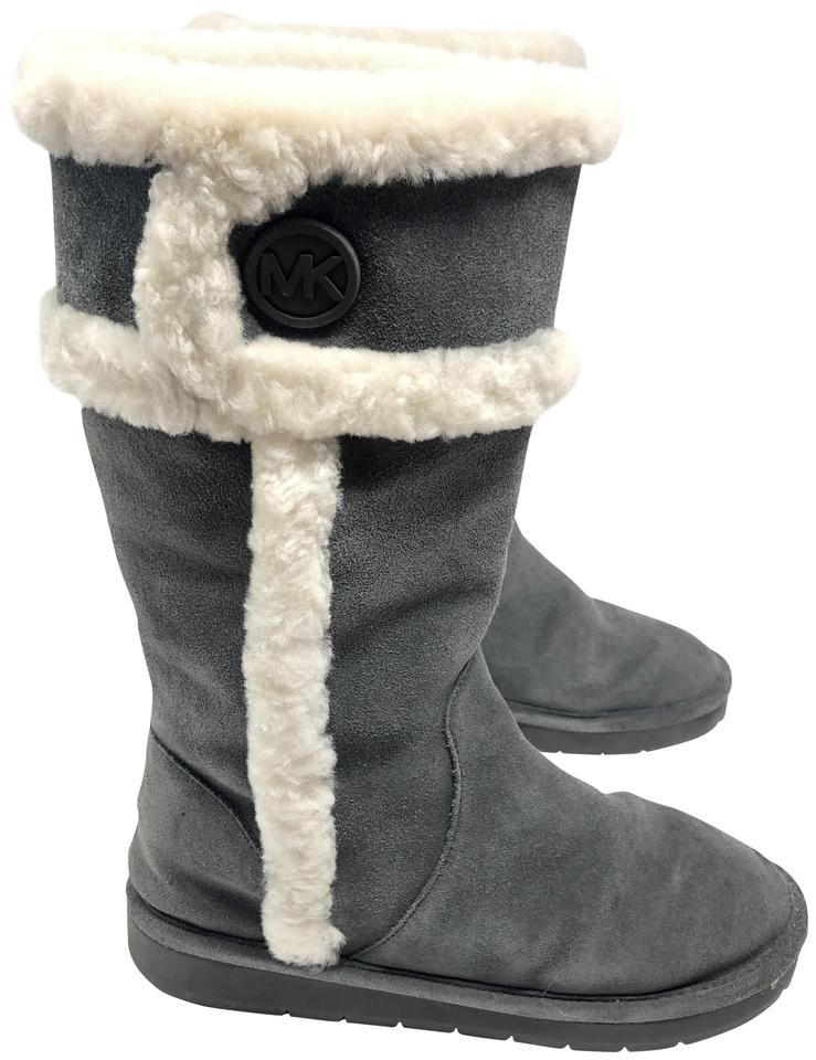 e0322bf7c Michael Kors Charcoal Winter Tall Boots/Booties Size US 8 Regular (M, B)