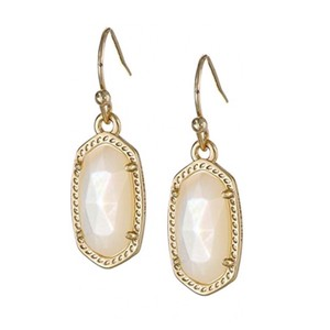 Kendra Scott Ivory Mother of Pearl Lee