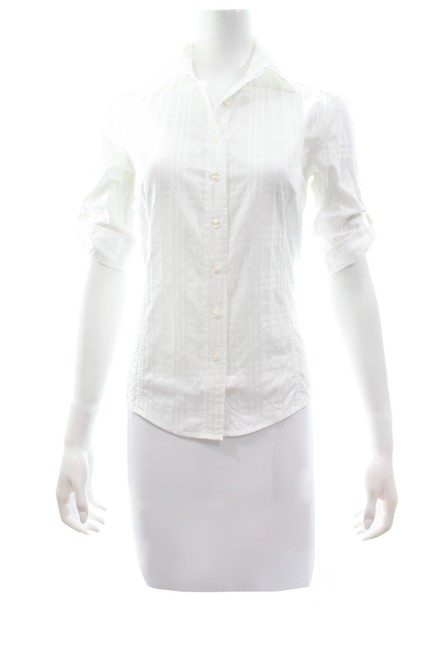 Burberry Button Down Shirt white Image 2