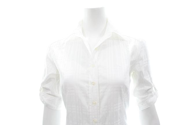 Burberry Button Down Shirt white Image 5