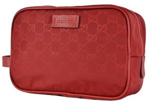 Gucci Gucci Men's Nylon GG Guccissima Large Toiletry Dopp Bag