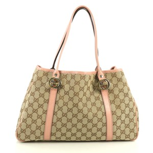 Gucci Twins Tote in brown