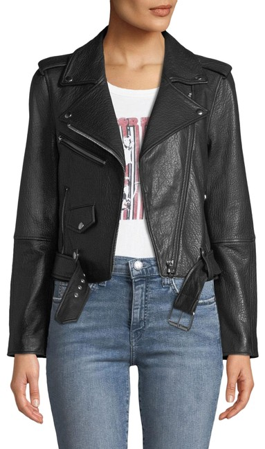 Item - Black XS  The Shaina Lamb Biker Motorcycle Jacket Size 0 (XS)