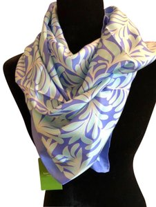 Kate Spade Kate Spade Sea Ferns Silk Square Scarf